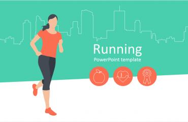 Running PowerPoint Template