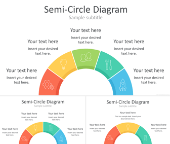 Semi-Circle PowerPoint Diagrams