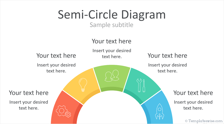 Semi-Circle PowerPoint Diagrams - Templateswise.com on information graphics, computer network diagram, circuit diagram, state diagram, unified modeling language, concept map, organizational chart, mind map, venn diagram, engineering drawing, system context diagram, sankey diagram, technical drawing, control flow diagram, data flow diagram,
