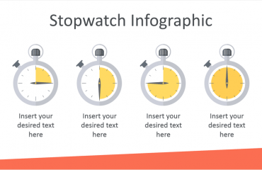 Stopwatch Infographics for PowerPoint