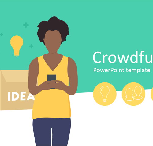 Crowdfunding PowerPoint Template