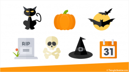 Halloween Icons for PowerPoint
