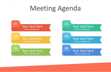 Meeting Agenda PowerPoint Template
