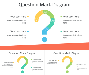 Question Mark Diagram for PowerPoint