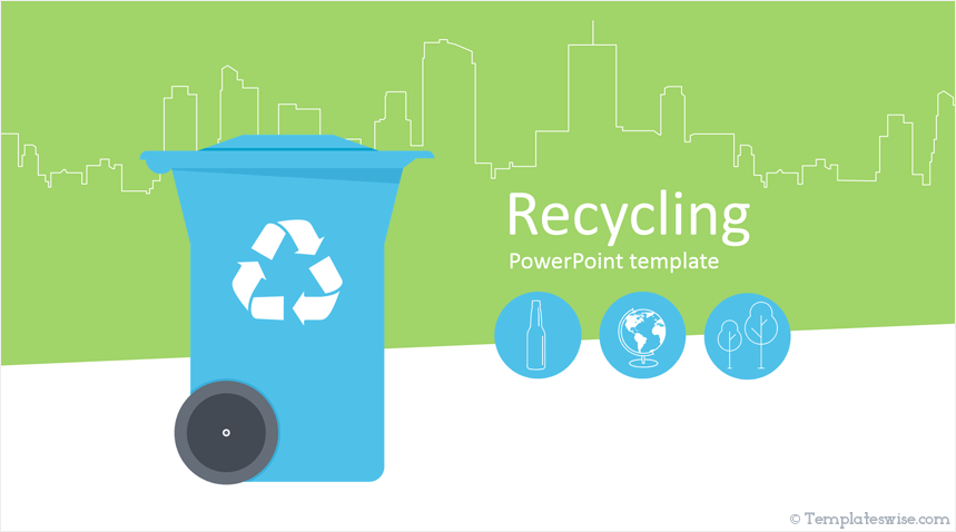 Recycling Powerpoint Template Templateswise Com