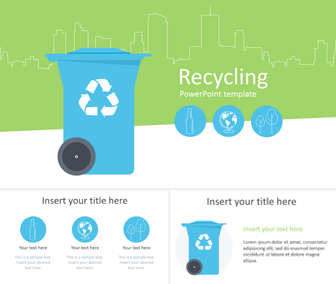 Recycling PowerPoint Template