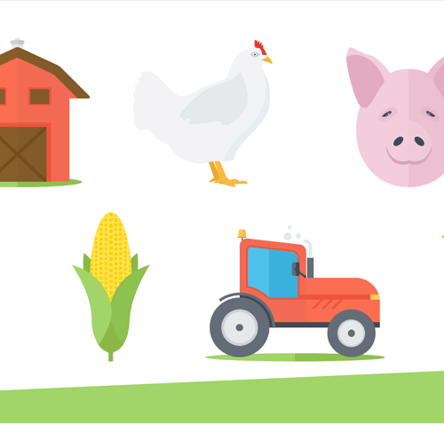 Agriculture Icons for PowerPoint