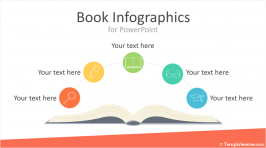 Book Infographics for PowerPoint