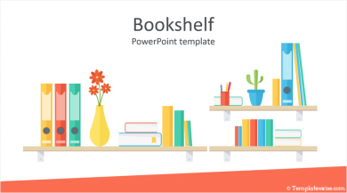 Bookshelf PowerPoint Template