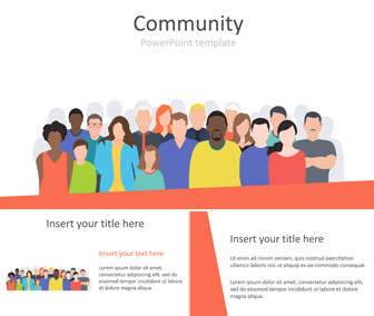 Community PowerPoint Template
