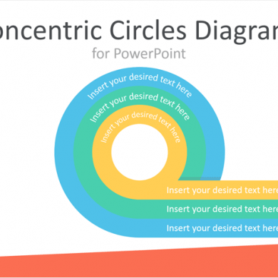 Concentric Circles Diagrams for PowerPoint