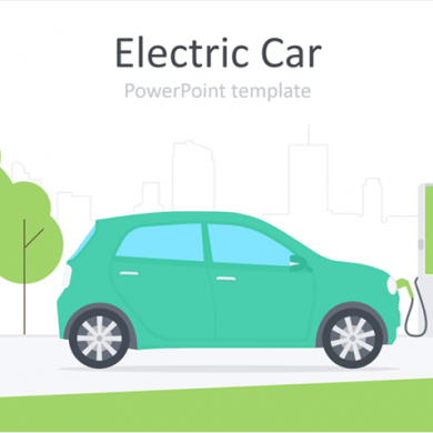Electric Car PowerPoint Template