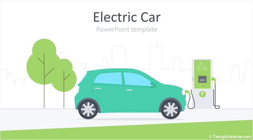 Electric Car Powerpoint Template Templateswise Com