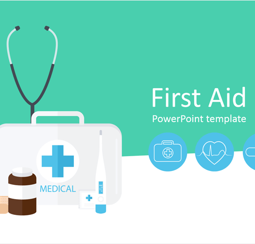 First Aid Kit PowerPoint Template