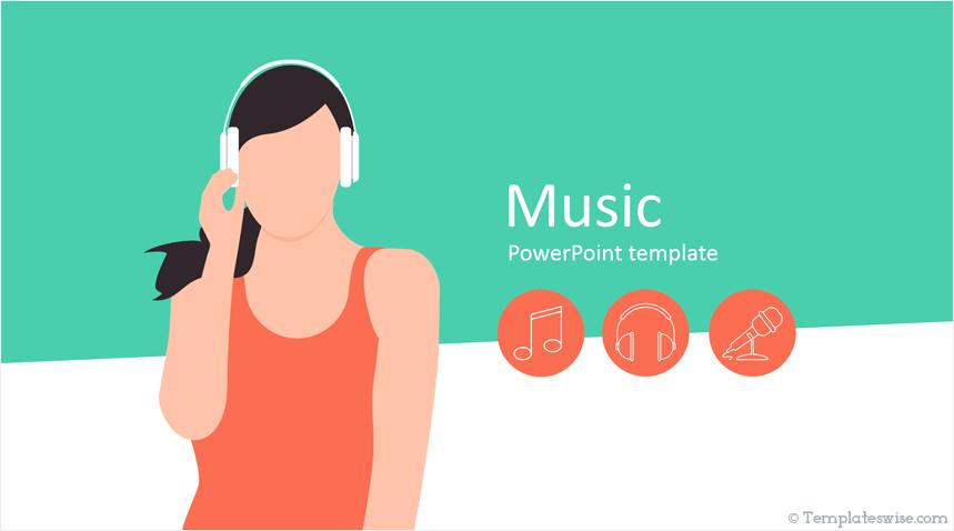 Music Powerpoint Template Templateswise Com