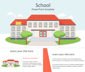 School PowerPoint Template