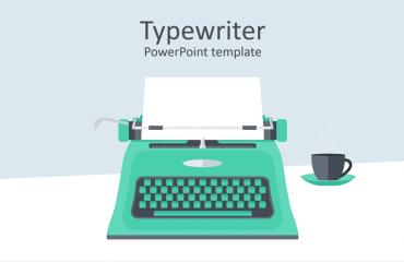 Typewriter PowerPoint Template