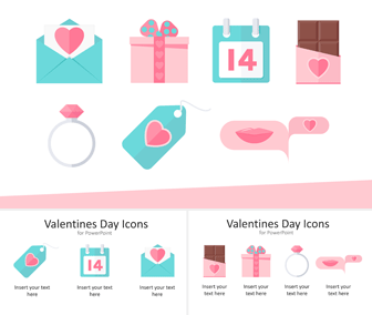 Valentines Day Icons for PowerPoint