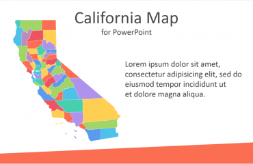 California Map for PowerPoint