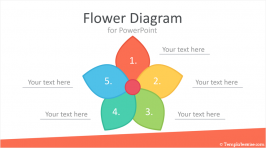 Flower Diagram for PowerPoint