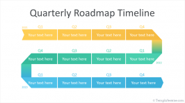 Roadmap Timelines for PowerPoint